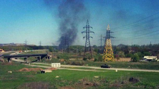 У Донецьку вибухнула машина з боєприпасами