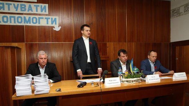 Березенко у Чернігові розповів, як захищатимуть права бійців АТО