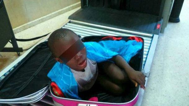 Хлопчик з валізи