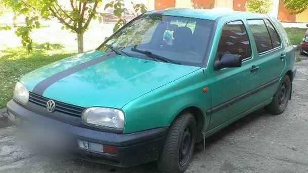 Автомобіль івано-франківця