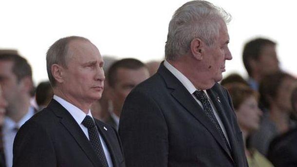 Путін та Земан