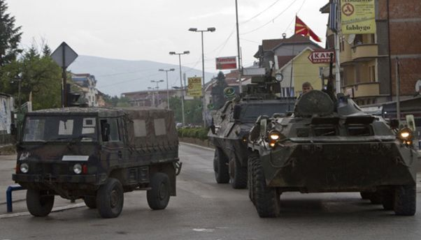 В Македонии обезвреживают террористов
