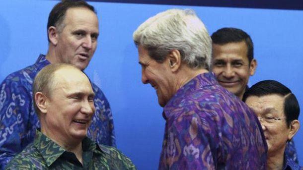 Путін і Керрі