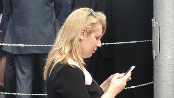 Пресс-секретарь Захарченко Елена Волынец