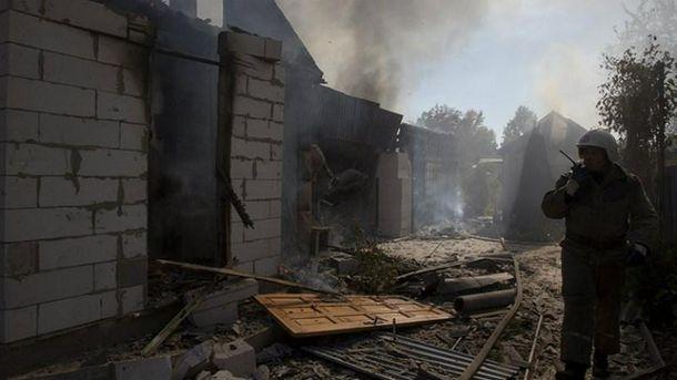 Обстріли біля Донецьку