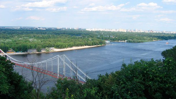 Дніпро у Києві
