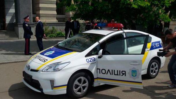 Автомобіль поліції