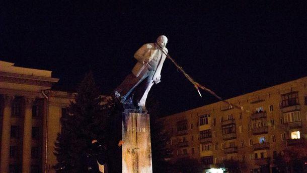 Повалення пам'ятника