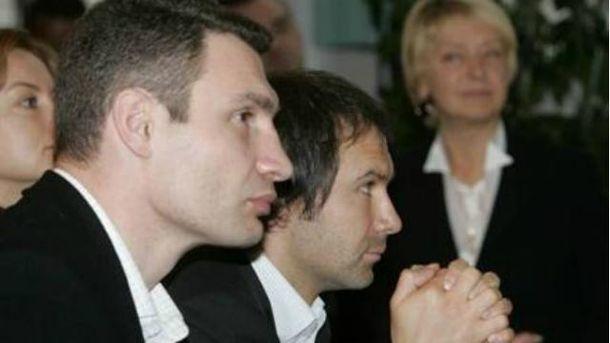 Виталий Кличко и Святослав Вакарчук