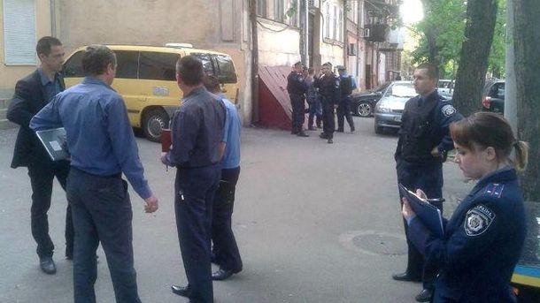 """В Одессе возле офиса """"Свободы"""" прогремел взрыв"""