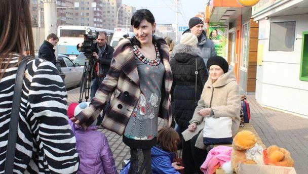 Біженці з Донбасу