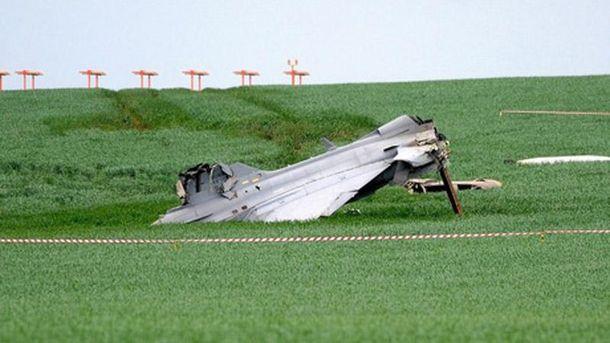 В Чехии разбился истребитель