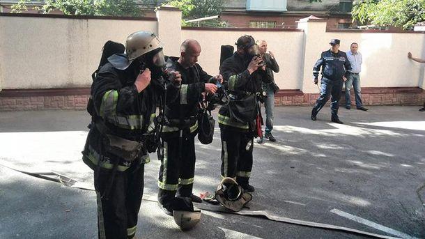 Пожежники у Тернополі