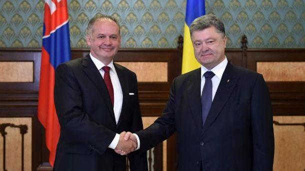 Петр Порошенко и Андрей Киска