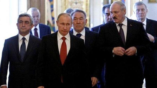 Президенти Вірменії, Росії і Білорусі