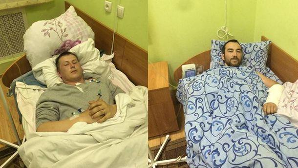 Задержанные российские военные