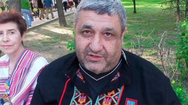 Володимир Шрейдлер у вишиванці