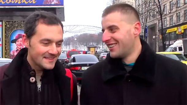 Виктор Пилипчук — справа