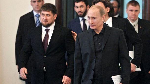 Кадиров і Путін