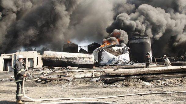 На нефтебазе под Киевом все спокойно и ничего не горит — ГСЧС