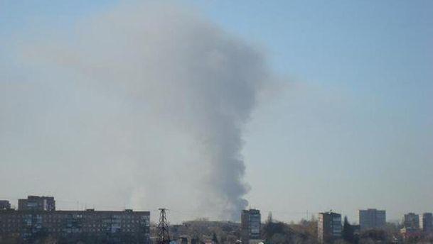 Вибух у Донецьку
