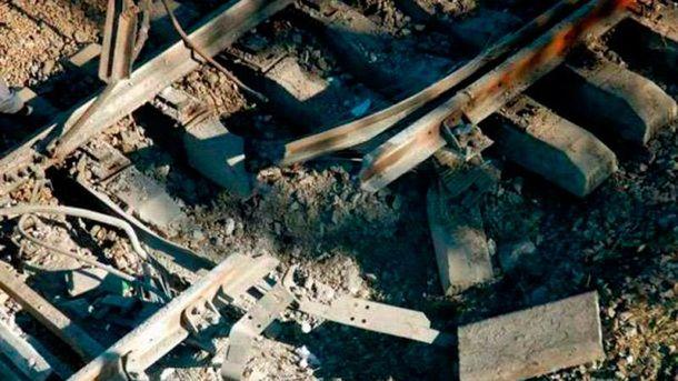 В Луганской области взорвали железную дорогу