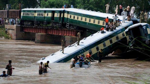 Аварія поїзда у Пакистані