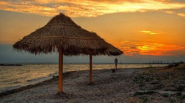 Пляж у Бердянську