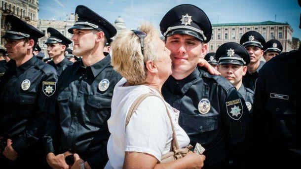 Київські поліцейські