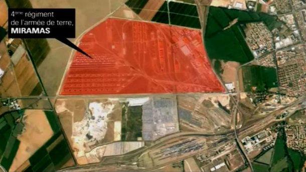 Территория военной базы в Мирамаси