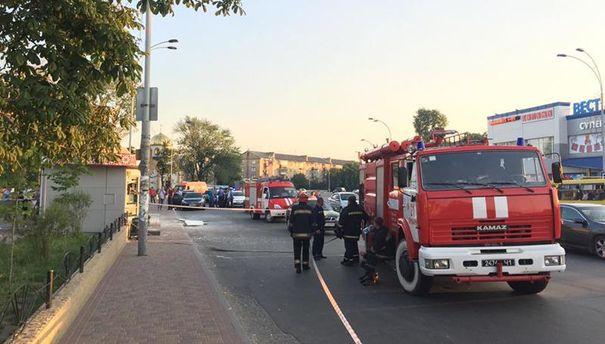 В Броварах произошел взрыв в киоске. Погибла женщина