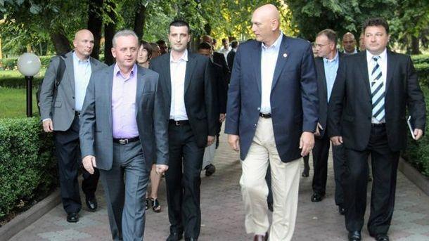 Віктор Муженко та делегація США
