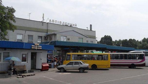 Автовокзал в Донецке