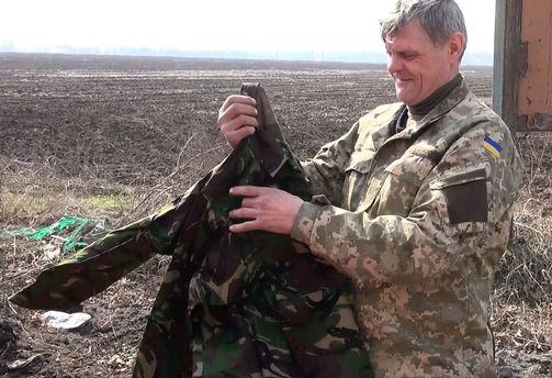 Украинский боец в АТО