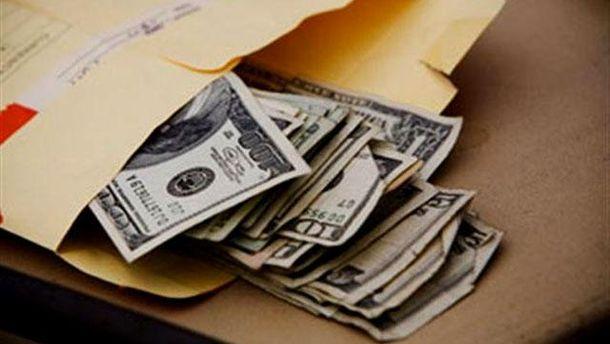 Гроші у конверті