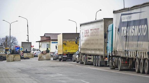 Административная граница с оккупированным Крымом