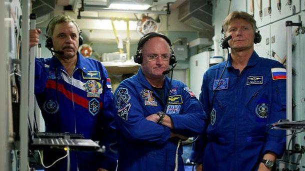 Российские космонавты