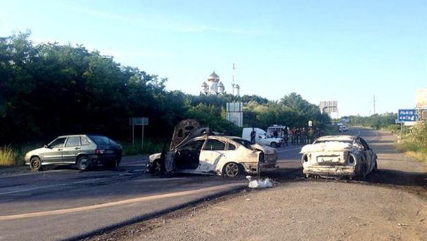 Стрельба в Мукачево