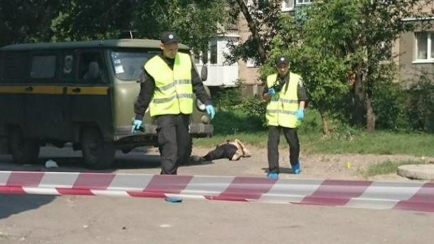 Нападение на инкассаторов в Харькове