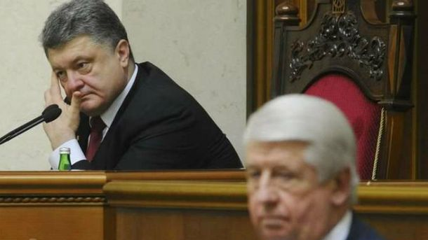 Петро Порошенко, Віктор Шокін