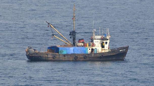Рыболовный корабль