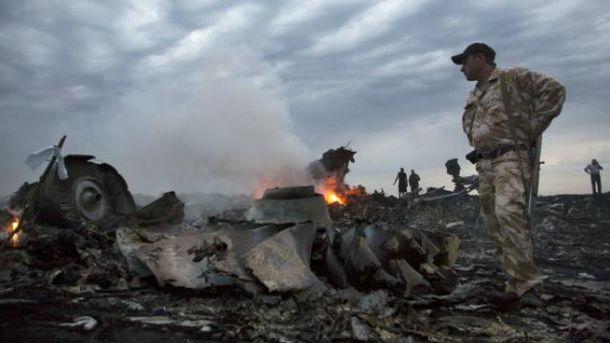Сбитый неподалеку от Донецка малазийский Boeing-777