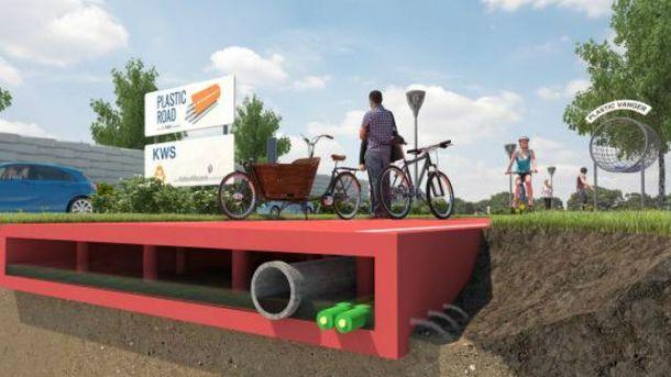 Проект пластиковых дорог