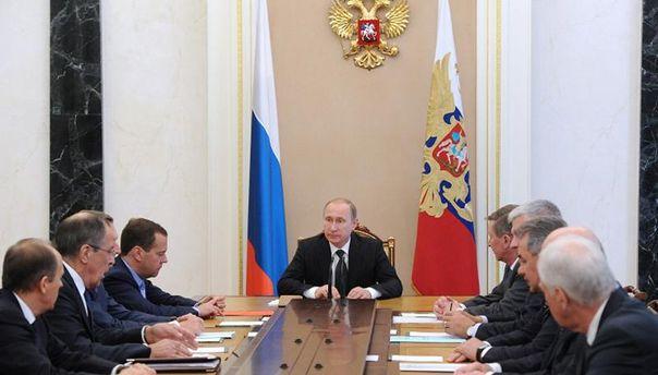 Засідання Радбезу Росії