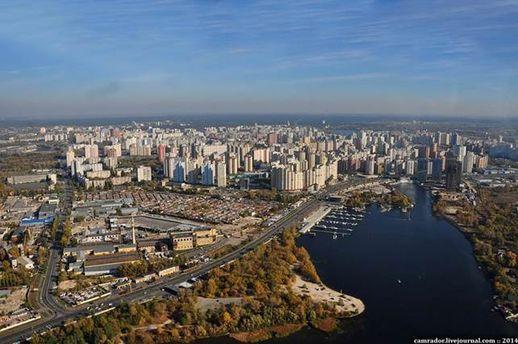 Киев. Залив Берковщина