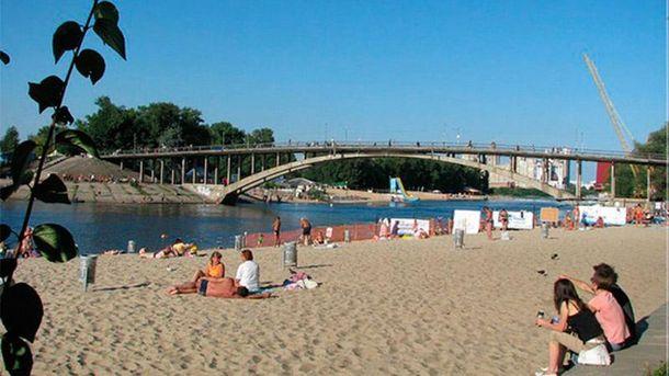 Киевский пляж