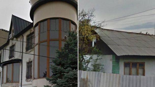 Будинки терориста Захарченка