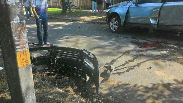 Взрыв авто в Черкассах