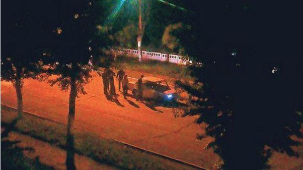 Автомобиль боевиков расстреляли неизвестные