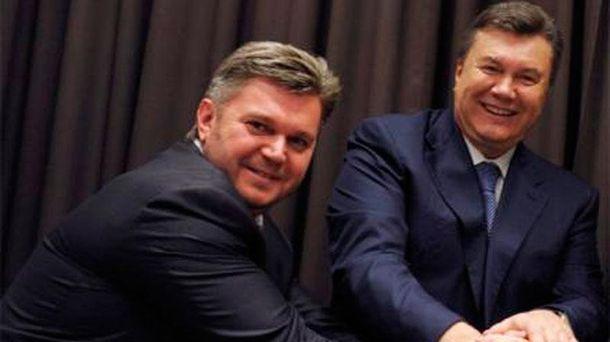Эдуард Ставицкий и Виктор Янукович